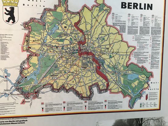 I Was Always Confused Around Why EastWest Berlin Was Separated - Berlin map east west