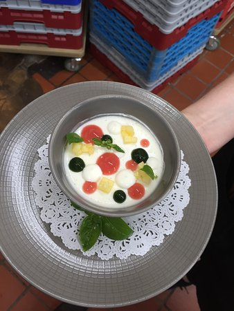 Bernardsville, NJ: Lemon Yogurt Panna Cotta