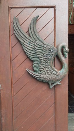 Drumcliff, Irland: One of the church doors