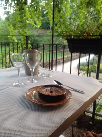 Paunat, فرنسا: Creme brulee