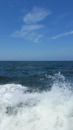Onancock, VA: Tangier Ferry Ride Splash