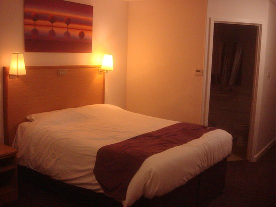 Premier Inn Edinburgh City Centre (Haymarket) Hotel: Chambre Premier Inn -