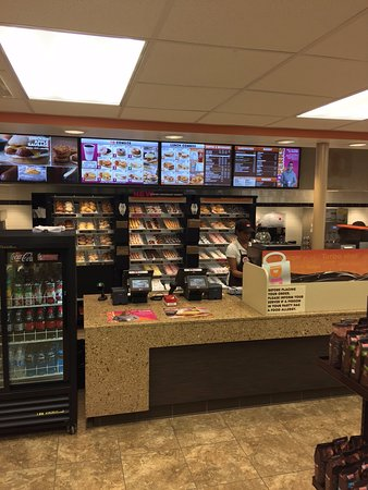 New Dunkin Donuts - at Simmons Travel Center, Bracey, VA