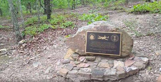 Pine Mountain, Georgien: Plane Crash Memorial