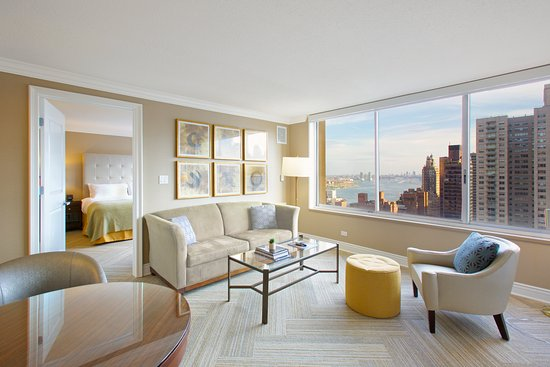 Sutton Court Hotel Residences: Remodeled River View One Bedroom Apartment