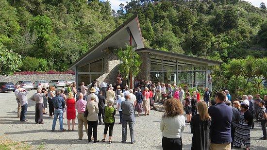 Whangarei, Nueva Zelanda: The Visitors Centre Opening Day Dec 2015