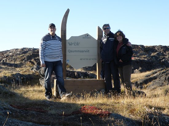 Iqaluit, Canadá: park sign