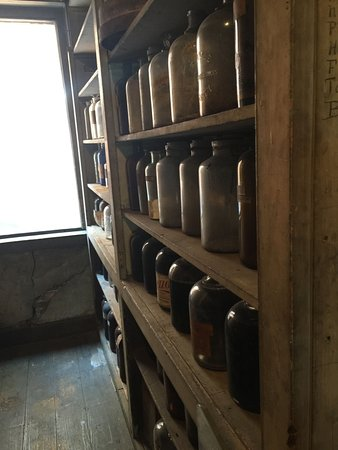 Stabler Leadbeater Apothecary Museum: Apothecary Factory Storage