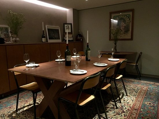 Portland Restaurant: Brilliant, Secluded Private Dining Room With A View Of  The Cellar.