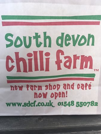 Loddiswell, UK: South Devon Chilli Farm Cafe