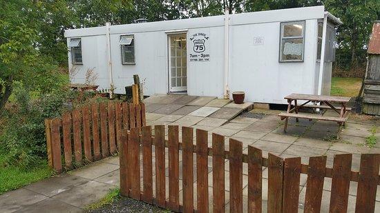 Crocketford, UK: Route 75 Diner Cabin DG2 8QD