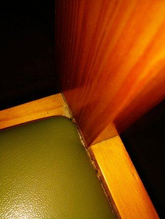 GHT Tossa Park Aparthotel: Tapicería sillas comedor