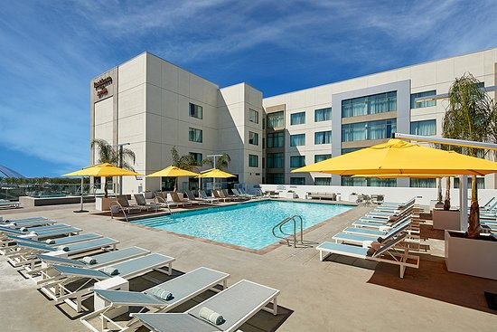 Residence Inn By Marriott At Anaheim Resort Convention Center Pool Side