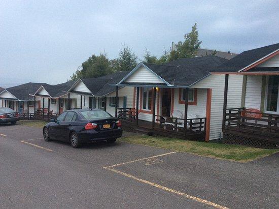 Motel Au Fleuve D'Argent Et Chalets Foto