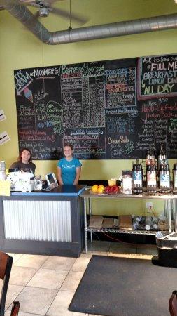 Beulah, MI: Coffee menu