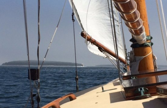 Sail Acadia: Sailing from Northeast Harbor, ME, on the Helen Brooks.