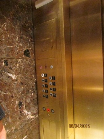 The Boston Common Hotel and Conference Center: Inside Elevator