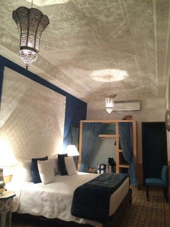 Riad Aguerzame: Azrah room.