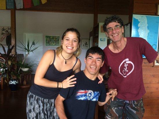 Cow Bay, Austrália: Youki with Matt & Lucia