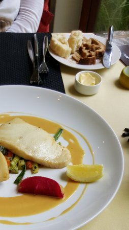 Abacus Restaurant, Garden & Bar: Cod fish