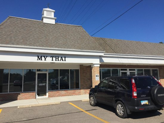 My Thai: The new location (around the corner from the old one0