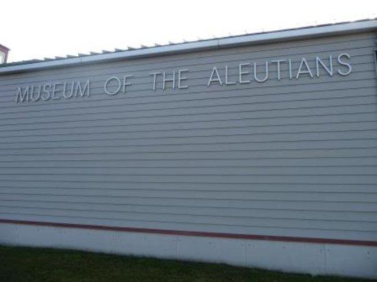 Unalaska, AK: Museum sign