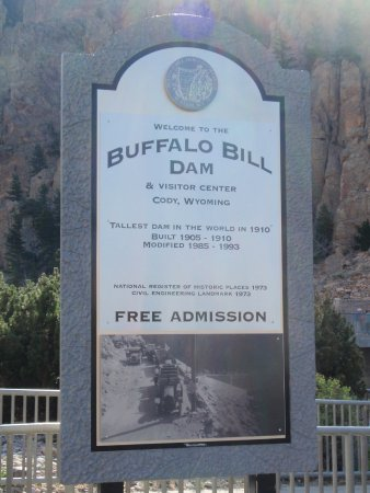 Buffalo Bill Dam لوحة