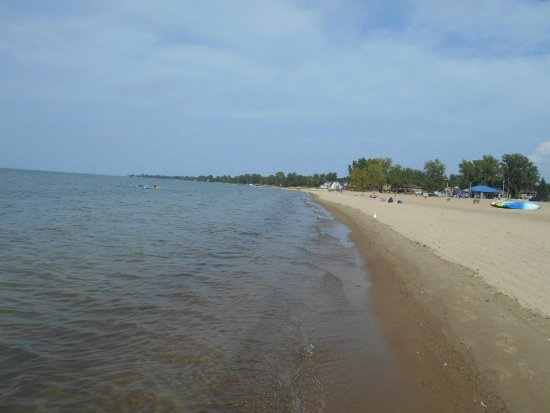 Caseville, MI: Looking north