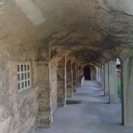 Fonthill: walkway