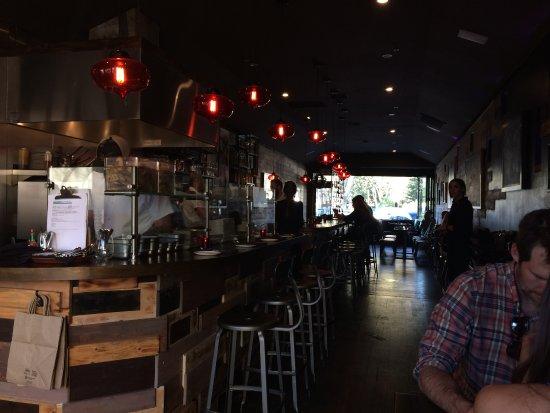 Oso Sonoma Inside Restaurant