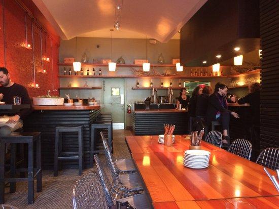 Bocadillos : Inside restaurant