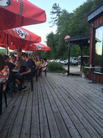 Wakefield, แคนาดา: patio