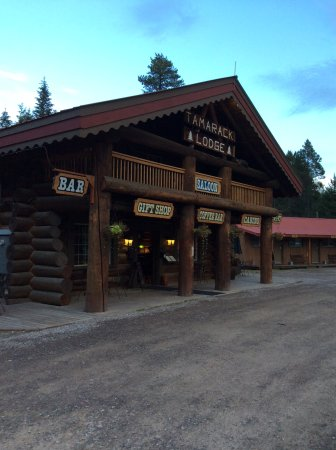 Hungry Horse, MT: Front entrance