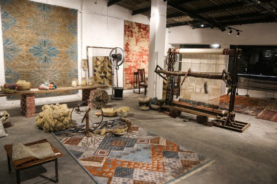 A Unique Rug Experiential Zone By India