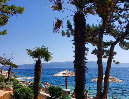 Hotel Amfora: plaża w Rabaciu