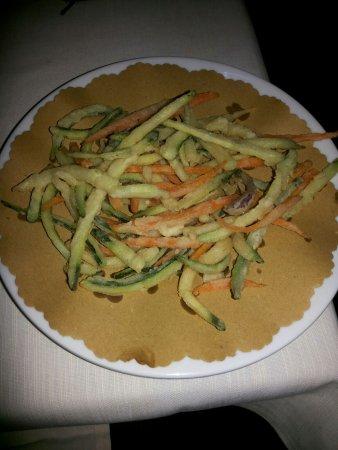 Hotel Locanda La Comacina : Verdure fritte