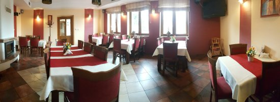 Bardejov, Slovakia: nefajčiarska časť reštaurácie