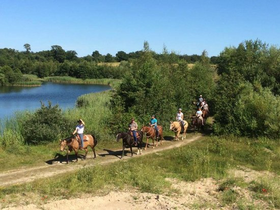 Svebølle, Danmark: Ridestien