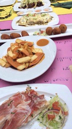 La Mestiza: Heerlijk eten! (ik kan nooit kiezen dus tapas = ideaal!).