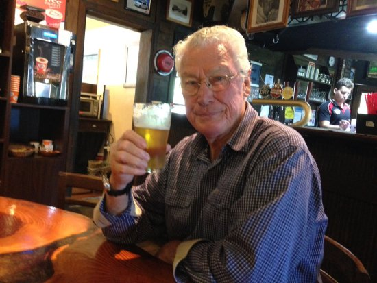 Macksville, Australia: David enjoying a Father's Day beer