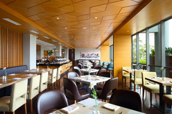 mandalika restaurant picture of hotel santika premiere ice bsd rh tripadvisor com sg