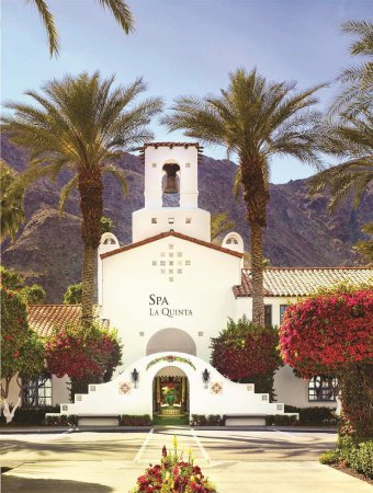 Ла-Кинта, Калифорния: Spa Entrance