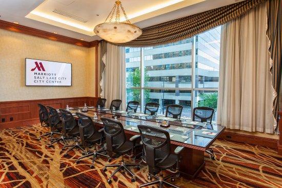 Salt Lake City Marriott City Center: Gallivan Boardroom