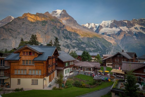 Hotel Jungfrau: Murren is one of the most beautiful Alp villages I have ever visited - tunliweb.no