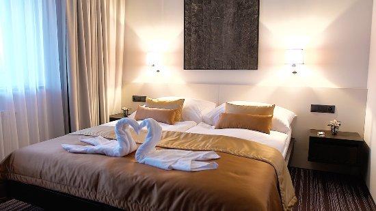 Stara Lesna, Słowacja: Horizont Resort Double room Accomodation