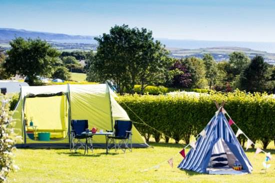 Wooda Farm Holiday Park: Camping at Wooda