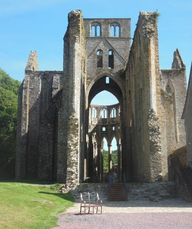 Hambye, Frankrike: Eglise en ruines