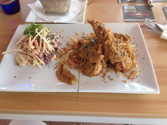 Calahonda, Spanien: Lunch at The Lady in the Bath Cafe
