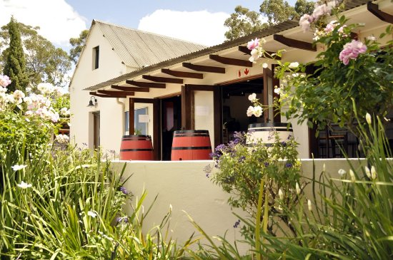 Wellington, Republika Południowej Afryki: Tasting room & restaurant