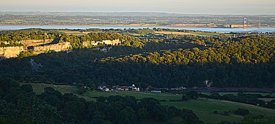 Forest of Dean, UK: 365 steps or The Nestle's View; Wales